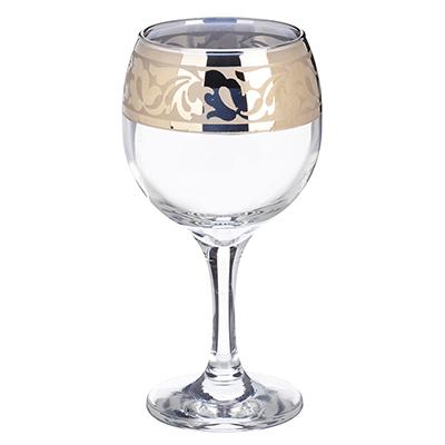 878-336 Набор фужеров 6шт для вина 250мл, в под/уп, 1711-ГНМ, Жасмин