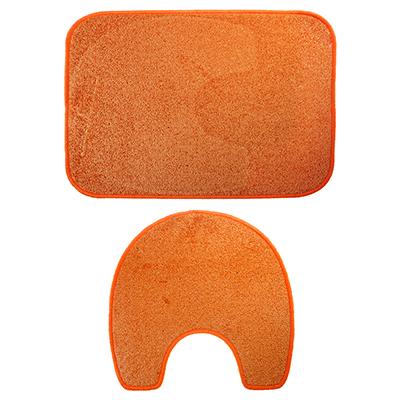 462-642 VETTA Набор ковриков 2шт для ванной и туалета, полипропилен, 60х80см + 56х56см