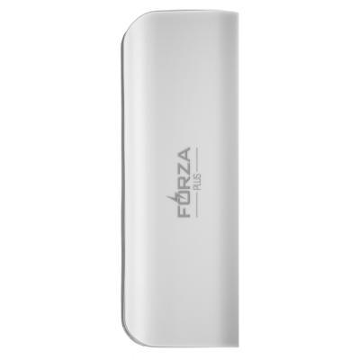 916-146 Аккумулятор мобильный FORZA 2000-2200 мАч, 1А, белый