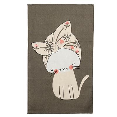 """434-041 Кухонное полотенце """"Стиль"""", 100% хлопок, рогожка, 35х61 см, 6 дизайнов"""