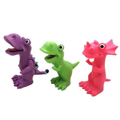 260-003 Фигурка в виде Динозавра, пластизоль, 4,5х17х6см, 6 дизайнов
