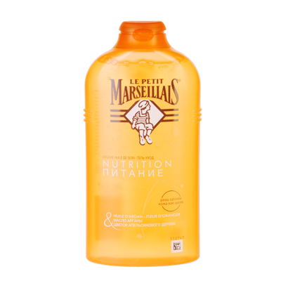 951-056 Гель-Масло для душа Ля Пети марселье Масло арганы и цветок апельсинового дерева 250мл 8687301
