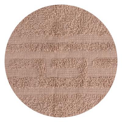 """489-141 Полотенце для лица махровое, хлопок, 50х80см, коричневое, """"Лайт"""""""