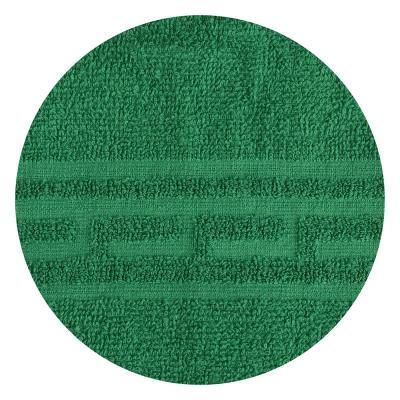 """489-145 Полотенце для лица махровое зеленое """"Лайт"""" 50х80см"""