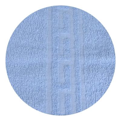 "489-146 Полотенце махровое, 100% хлопок, 50х80см, ""Лайт"", св. голубой, 6127334"
