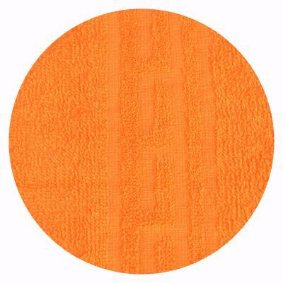 """489-147 Полотенце для лица махровое, хлопок, 50х80см, оранжевое, """"Лайт"""""""
