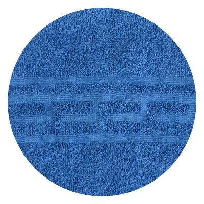 """489-148 Полотенце для лица махровое, хлопок, 50х80см, голубое, """"Лайт"""""""
