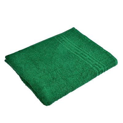 "484-870 Полотенце банное махровое, хлопок, 60х130см, зеленое, ""Лайт"""