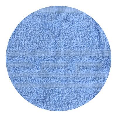 """484-872 Полотенце банное махровое голубое """"Лайт"""" 60х130см"""