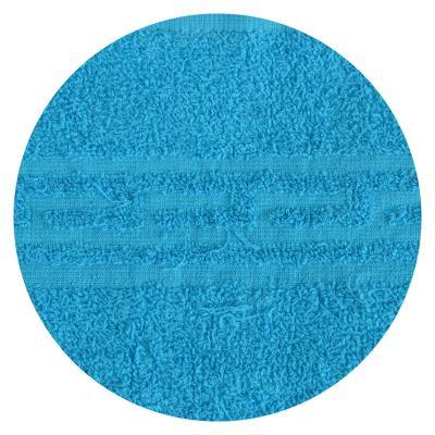 """484-875 Полотенце банное махровое, хлопок, 60х130см, голубое, """"Лайт"""""""