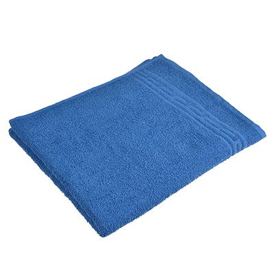 """484-876 Полотенце банное махровое, хлопок, 60х130см, синее, """"Лайт"""""""