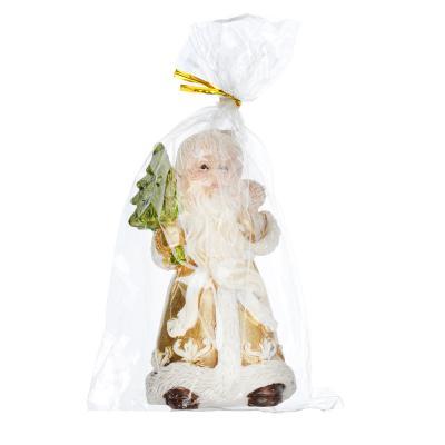 396-464 СНОУ БУМ Сувенир в виде Деда Мороза, 10,7см, полистоун, 4 дизайна
