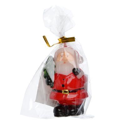 396-472 СНОУ БУМ Свеча в виде Деда Мороза, 5,2см, парафин, 4 дизайна