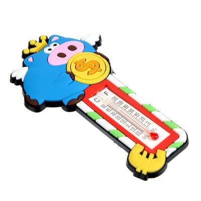 359-636 СНОУ БУМ Магнит 8,5х5см, ПВХ, Символ года, с термометром, 6 дизайнов