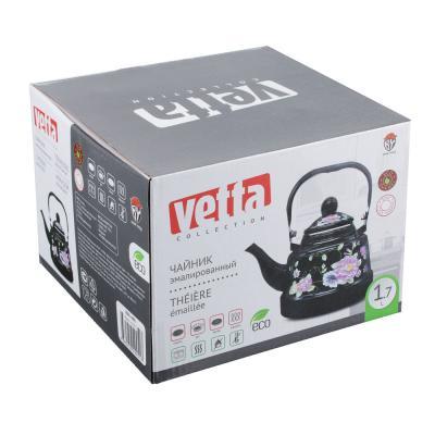 894-446 Чайник 1,7 л VETTA Иллюзия, эмалированный, индукция