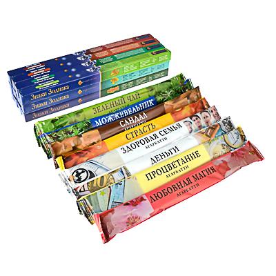 425-140 Аромапалочки 8 шт в мягкой упаковке, 9 ароматов, NR-10