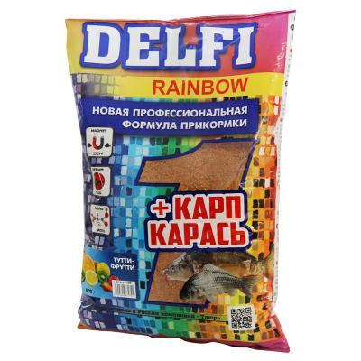 137-021 DELFI прикорм RAINBOW для карпа и карася, с ароматом тутти-фрутти, 800гр DFG251
