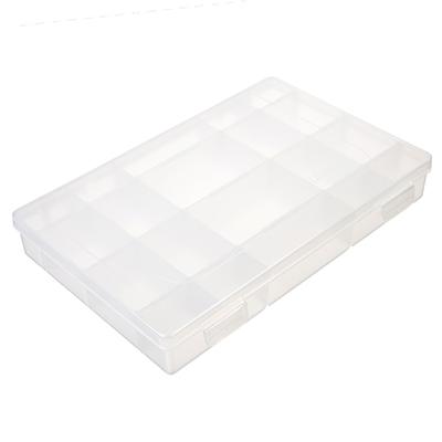 147-017 СЛЕДОПЫТ коробка LUNO-20 для рыболовных приманок, 277х185х42,5 мм