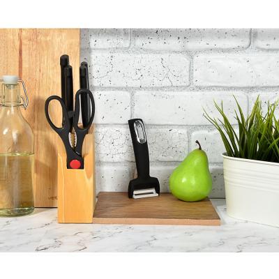 882-279 Нож для чистки овощей, горизонтальное лезвие, нержавеющая сталь, Имари SATOSHI