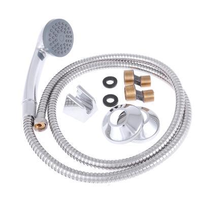 594-063 SonWelle Смеситель для ванны Мира, длинный излив, картридж 40мм, с комплектом для душа, латунь