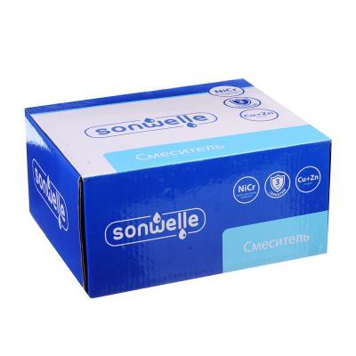 594-064 SonWelle Смеситель для раковины Атриа, картридж 40мм, латунь