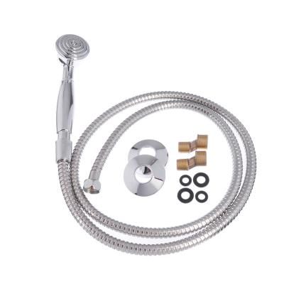 594-071 SonWelle Смеситель для ванны Алия, с дл. изливом, керам. кран-буксы 1/2, с компл. для душа, латунь