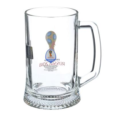 "878-339 ОСЗ FIFA Кружка для пива ""Ладья"" 500 мл ""Эмблема"", арт 6947/0"