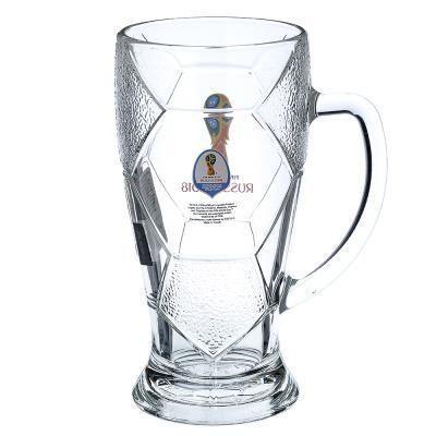 """878-340 ОСЗ FIFA Кружка для пива """"Лига"""" 500 мл """"Эмблема"""", арт 6948/0"""