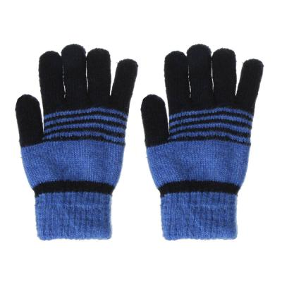 363-144 Перчатки детские утепленные, 5-7 лет, 100% акрил, 3 цвета