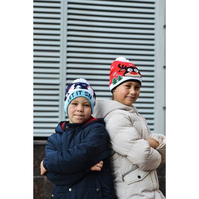 314-410 Шапка молодежная, 100% акрил, 2-4 дизайна, ШЗ2018-10