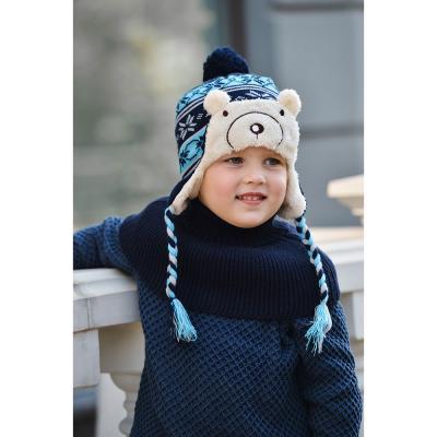 314-444 Воротник детский, универсальный, 100% акрил, 4 цвета, ШЗ2018-42