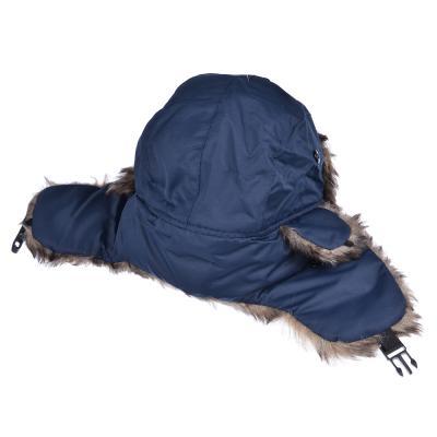 314-446 Шапка детская, размер 54, полиэстер, искусственный мех, 4 цвета
