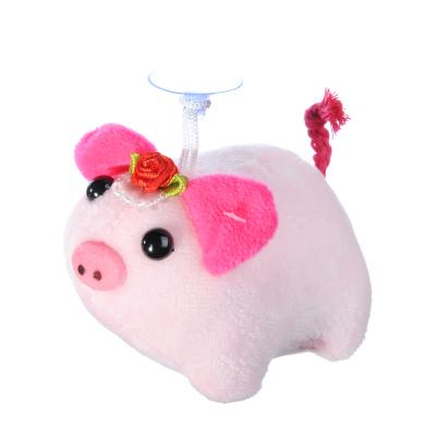 398-237 СНОУ БУМ Игрушка мягкая в виде свинки, полиэстер, 10см, 6 цветов