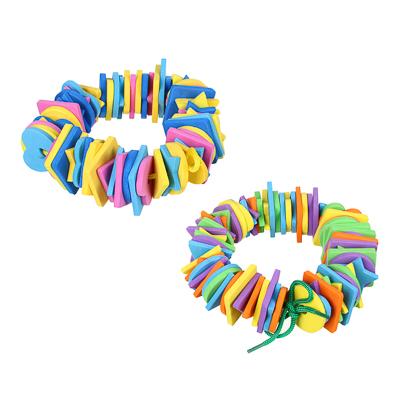 262-417 МЕШОК ПОДАРКОВ Шнуровка в виде геометрических фигур/цветов, ЭВА, 15х17см, 2 дизайна