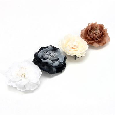 """491-426 Зажим для штор """"Цветок"""", полиэфир, 4 цвета"""