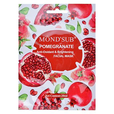 978-034 Маска для лица Mondsub с антиоксидантным эффектом для сияния кожи с гранатом, 20мл