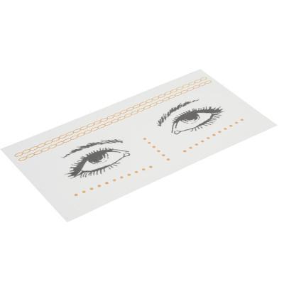 357-176 Тату-наклейки для лица, бумага, 16,4х8см, 3 дизайна