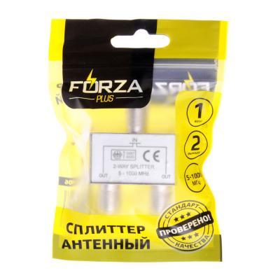 450-006 FORZA Сплиттер антенный, 2 выхода, 5-1000 МГц