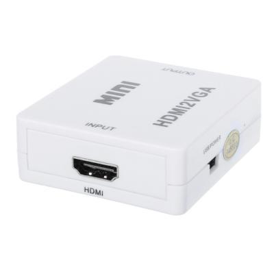 450-009 FORZA Переходник HDMI - VGA, 3.5 Jack аудио, пит. Mini-USB, 5,5x6см, пластик