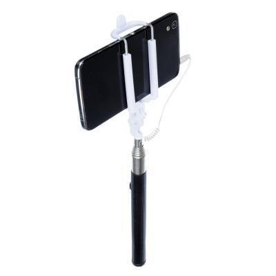 470-001 FORZA Палка для селфи, 21-95см, прорезиненная, пластик, металл