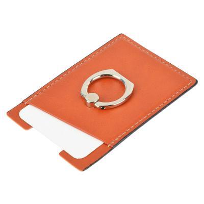 470-009 FORZA Наклейка-кошелек на смартфон, для карт, кольцо, иск. кожа, 5 цветов