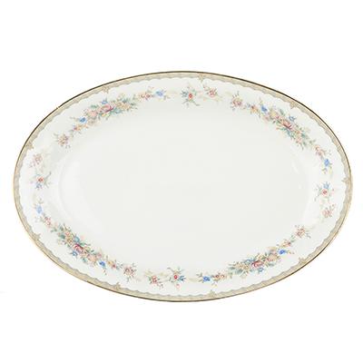 821-763 MILLIMI Версаль Блюдо овальное, 30,5х21см, костяной фарфор
