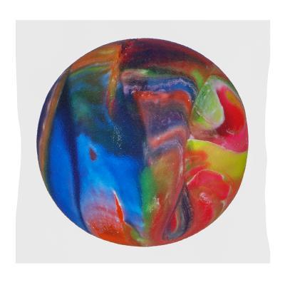295-139 Мячик каучуковый Попрыгун, цветной, каучук, d-45мм, 4-8 дизайнов