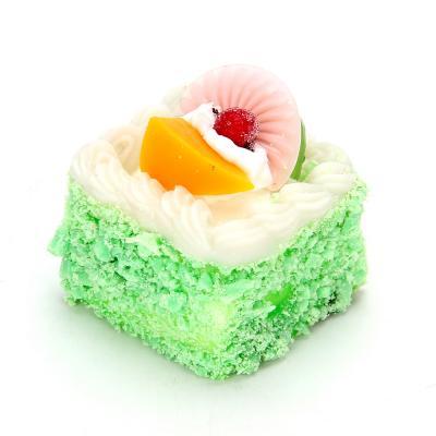 297-035 LASTIKS Мялка в виде пирожного на магните, большая, 6-7 см,  2 дизайна
