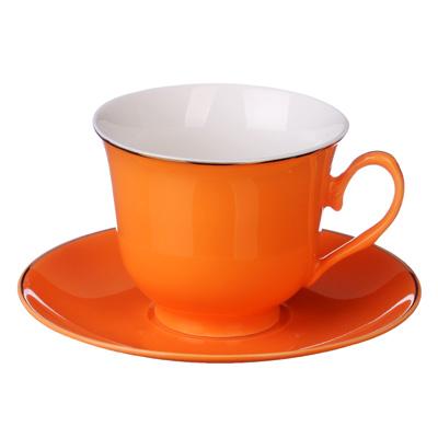821-778 MILLIMI Пастель Набор чайный 12 пр., 250мл, костяной фарфор