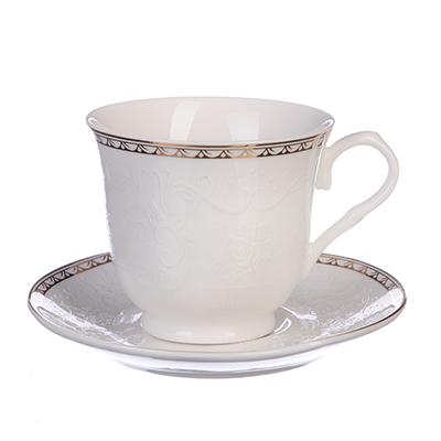 821-810 MILLIMI Анжелика Набор кофейный 4 пр., 110мл, костяной фарфор