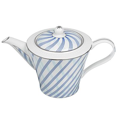 821-872 MILLIMI Лазурит Заварочный чайник 800 мл, костяной фарфор