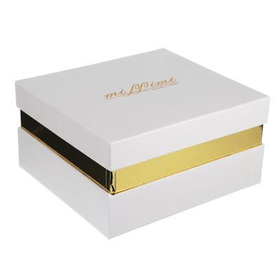 """821-883 Набор чайный 2 шт., 240мл, подарочная упаковка, костяной фарфор, MILLIMI """"Сливочный крем"""""""