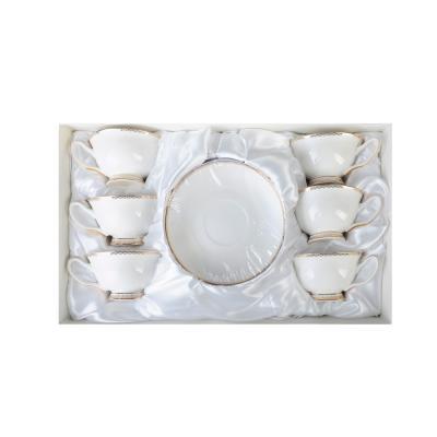 821-926 MILLIMI Дивина Набор чайный 12 пр., 220мл, костяной фарфор