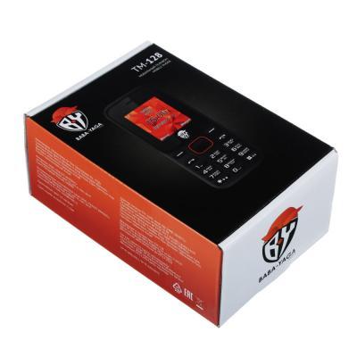 450-010 BY Мобильный телефон, цвет черно-оранжевый, 128-ТМ